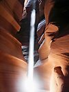 Slot Canyon Sunbeam by Kenneth Keifer