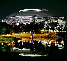 Cowboys Stadium by night by natasha007