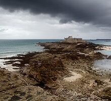 Fort National, St. Malo, France by Ann Garrett