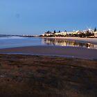 Golden sunrise - Kings Beach, Caloundra by clay2510