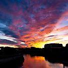 Salem South River Sunset by Steve Borichevsky