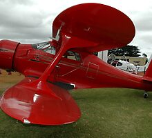 Beech Staggerwing @ Tyabb Air Show 2006 by muz2142