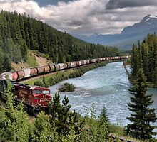 Canadian Pacific Railroad by Sean Jansen