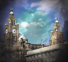 Royal Liver Building by Carol Bleasdale