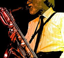 GERRY MULLIGAN by Terry Collett