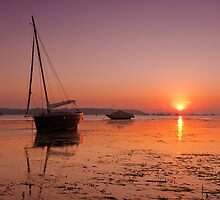 Poole Sunset by banny