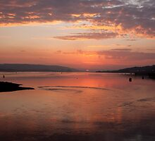 Port Glasgow Sunrise by Ian Johnston