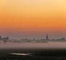 Just before sunrise.... by Adri  Padmos