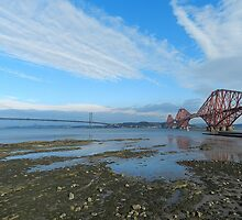 Forth Bridges by weecritter