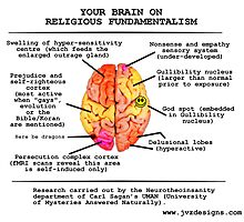 Your Brain On Religious Fundamentalism by jayveezed