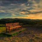 Sunset on Blackford Hill by Steve Falla