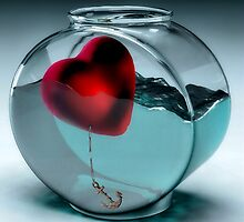 Fishbowl Heart by SuddenJim