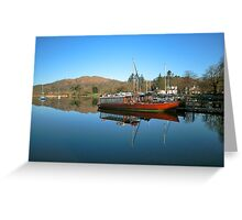 Queen Of The Lake Windermere Greeting Card