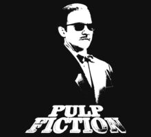 pulp fiction - mr. wolf by D4RK0