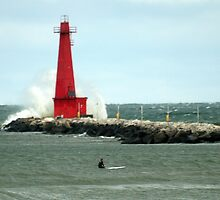What to do on a Breezy Lake Michigan Afternoon by BarbL