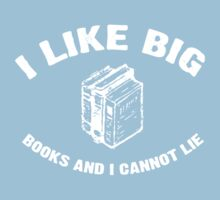 I Like Big Books - Baby Got Books - Vintage Kids Clothes