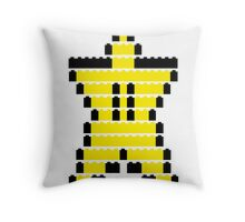 Mario Star Item Throw Pillow