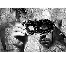 Paper Mask Photographic Print