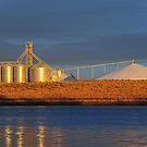Silos at Sunrise by Bob Hortman