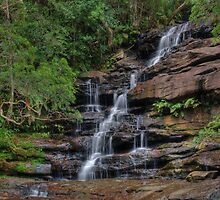 Waterfall #9 by vilaro Images