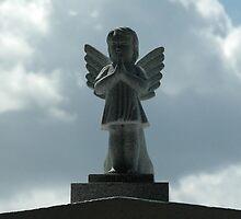 Angel Statue by Jennifer  Causley