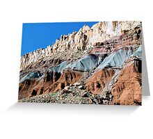 The Waterpocket Fold, Capitol Reef NP, Utah, USA Greeting Card