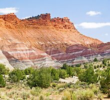 Colorful Cliffs by Kenneth Keifer