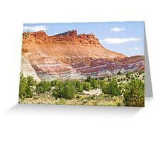 Colorful Cliffs Greeting Card