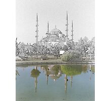 Hagia Sofia Drawn Photographic Print