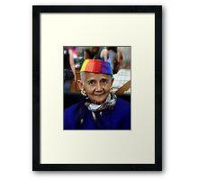 For a Golden Pictureframe .... Framed Print