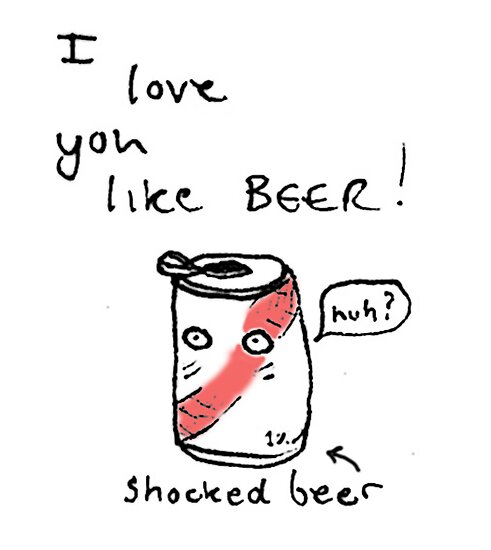 Love and Beer by DoodleDesigns