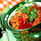 Red Pepper Filled With Rice and Meat by SmoothBreeze7