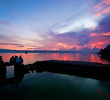 Tagbilaran City Sunset by Yhun Suarez