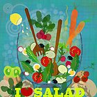 I love salad by Elisandra
