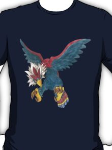 Braviary by Derek Wheatley T-Shirt