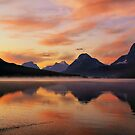 Sunrise at Bow Lake, Banff NP by Teresa Zieba