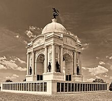 Pennsylvania Memorial Gettysburg by Nigel Fletcher-Jones