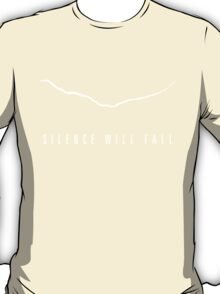 """Silence Will Fall"" The Crack (Dark Colors) T-Shirt"