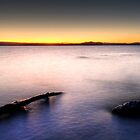 Lake Taupo's Last Light by Michael Treloar