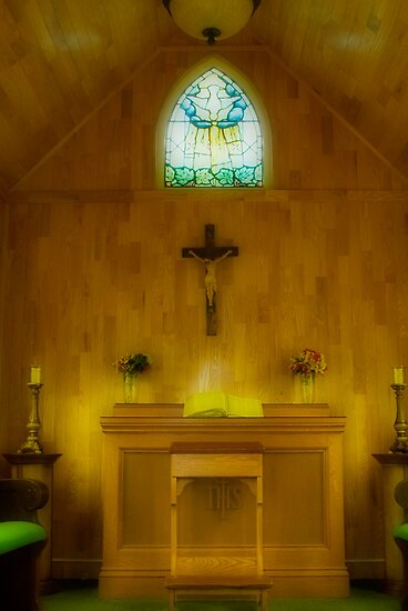 In The Chapel by Pamela Shane