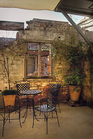 Coffee nook ~ Licorice Factory ~ Junee NSW by Rosalie Dale