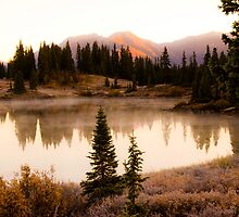 Heavy Frost - Molas Park by Susan Humphrey