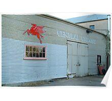 Clunes Garage Poster
