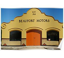 Beaufort Motors Poster