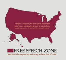 free speech zone by JRon