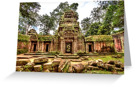 Ta Prohm Temple - Cambodia by Paul Pichugin