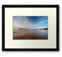 Still water over Dunk Island, Mission Beach FNQ Framed Print