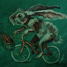 Bunny On A Bicycle by Ellen Marcus