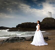 Llanddwyn .. on the shore ..  by Raymond Kerr