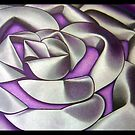 Tin petal purple by Leigh Donovan